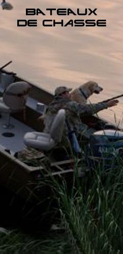bateaux de chasse