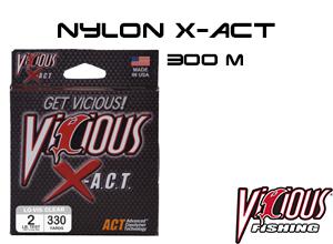 nylon x-act 300 m